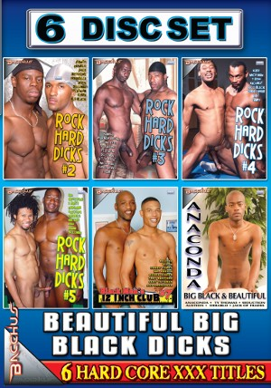 Beautiful Big Black Dicks (6 Disc Set)  DVD
