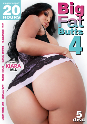 Big Fat Butts #4 (5 Disc Set) DVD
